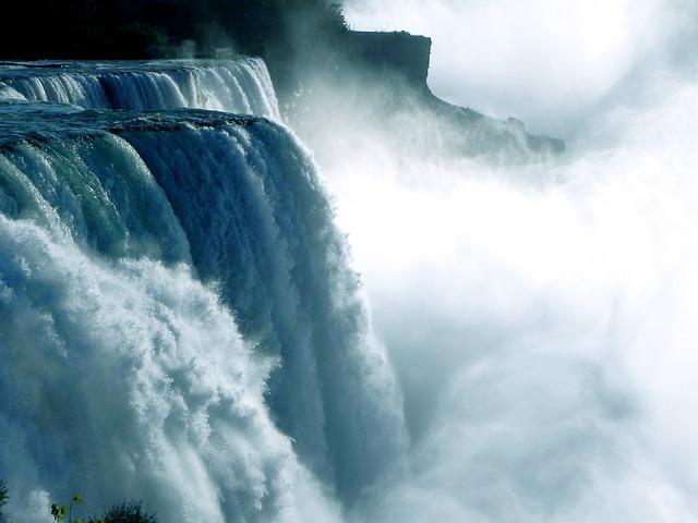 Quand les chutes du Niagara se sont arrêtées