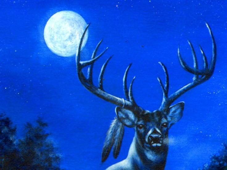 Pleine lune pour juillet 2017: The Buck Moon