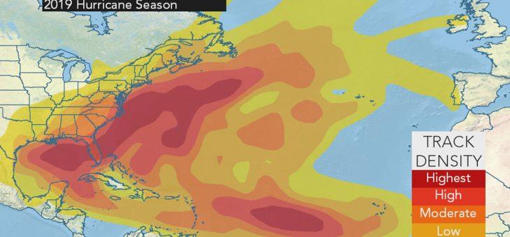 Les prévisions (anticipées) pour la saison des ouragans 2019!