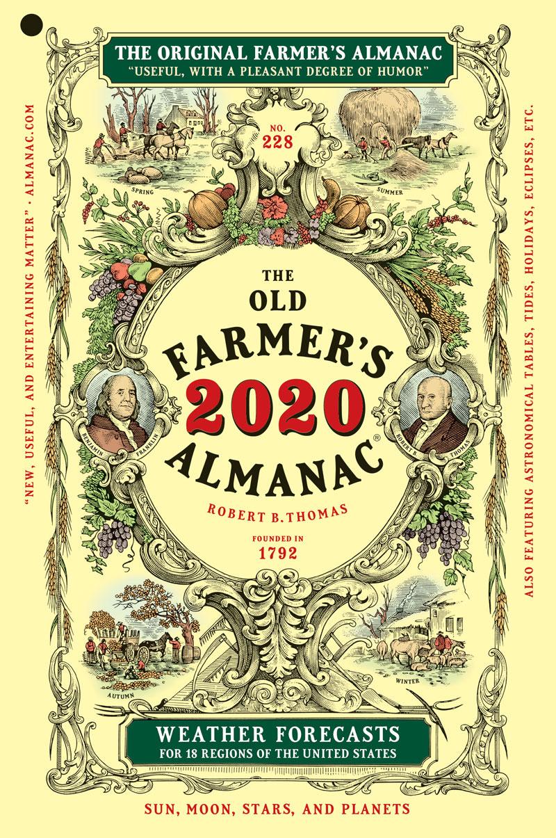 L'almanach des vieux paysans 2020