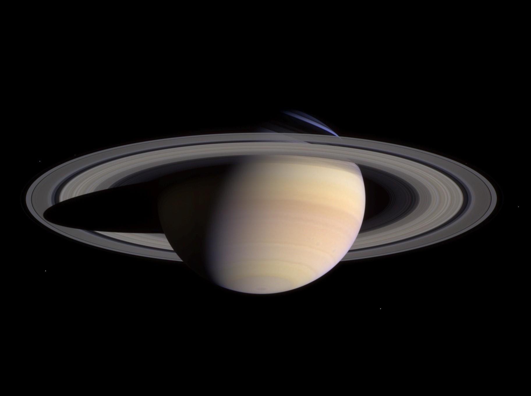Comment voir Saturne quand elle est à son maximum