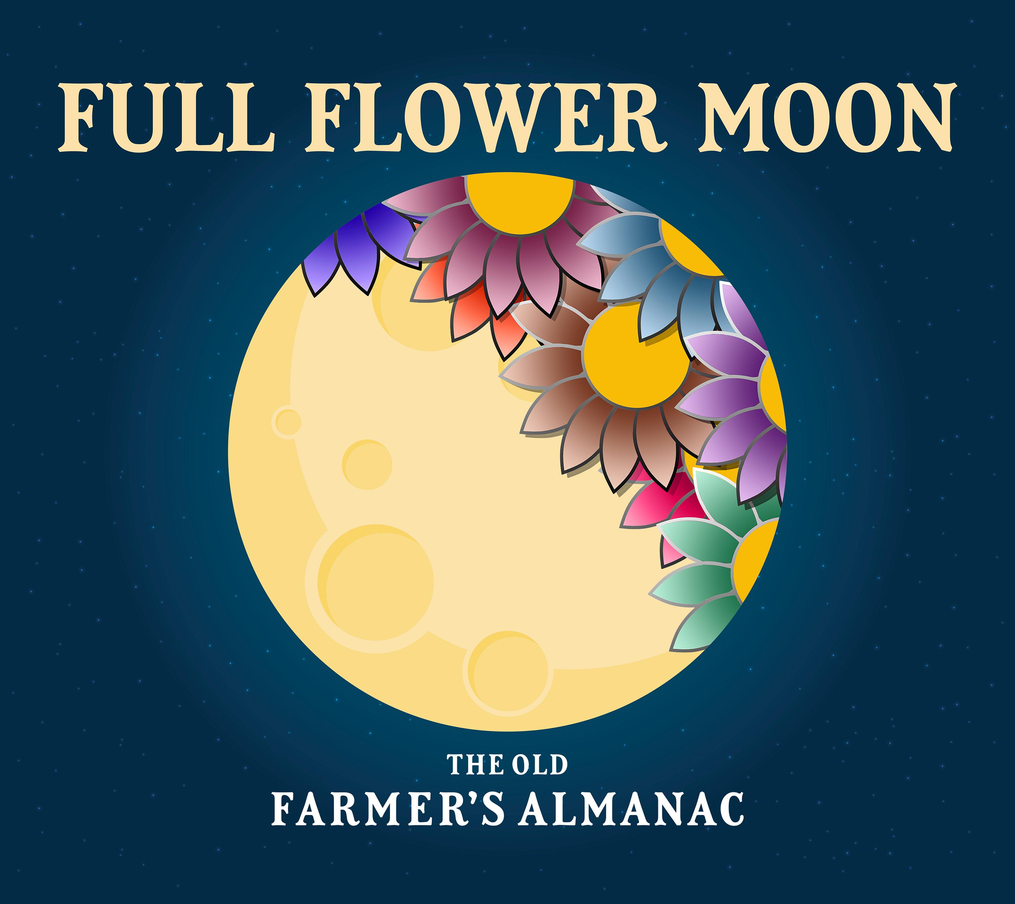 Pleine lune pour mai 2020: la pleine fleur (et la lune bleue)