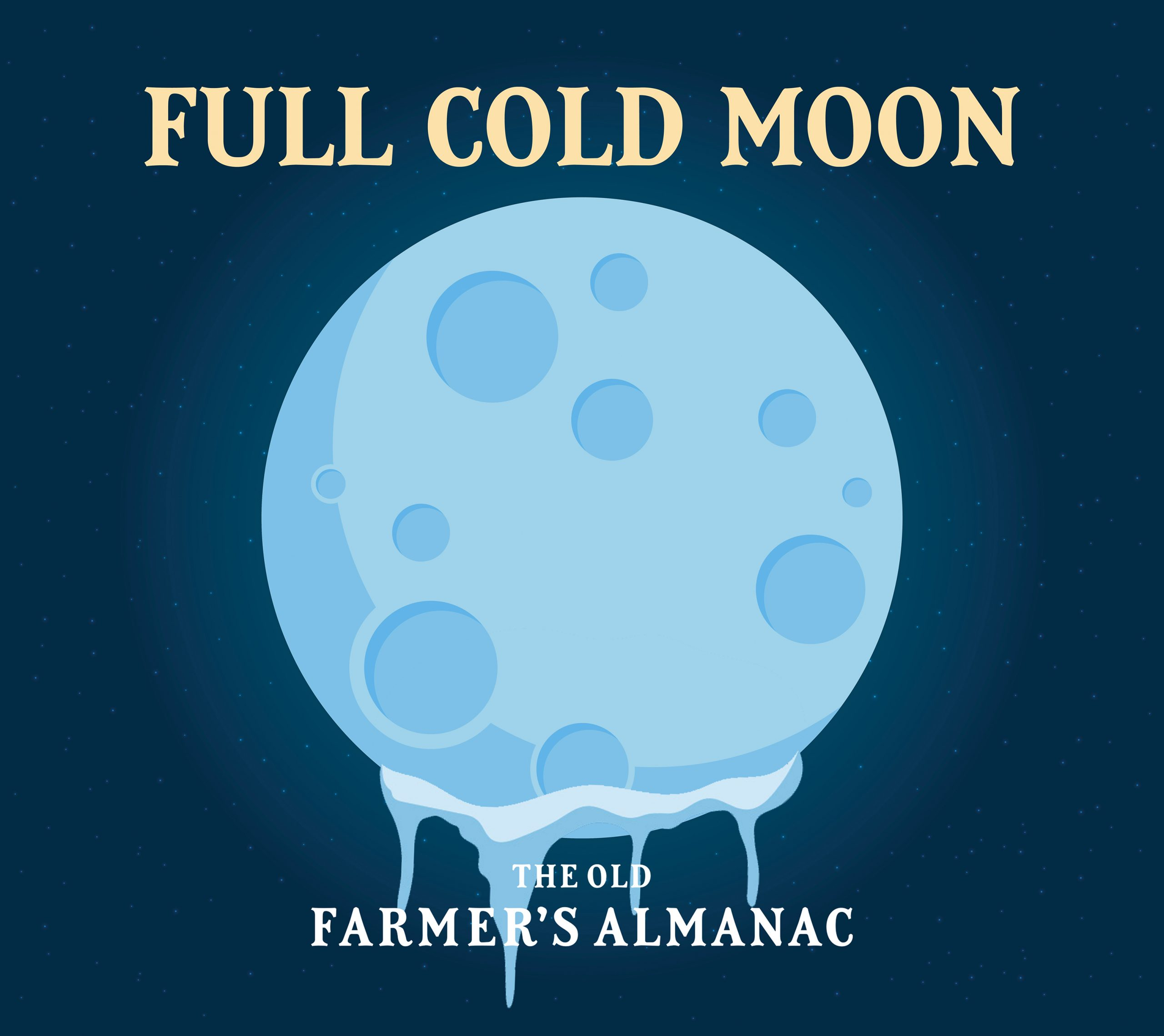 La pleine lune froide: pleine lune de décembre 2019