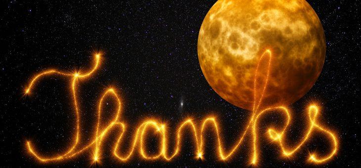 Gratitude cosmique sur Thanksgiving | Les jardins de Laurent du vieux fermier