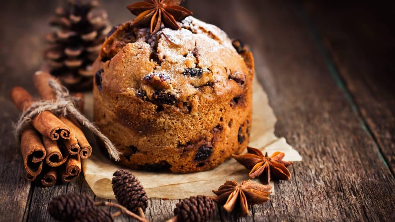 Cadeaux de nourriture de vacances: biscuits, pains, fudge et plus