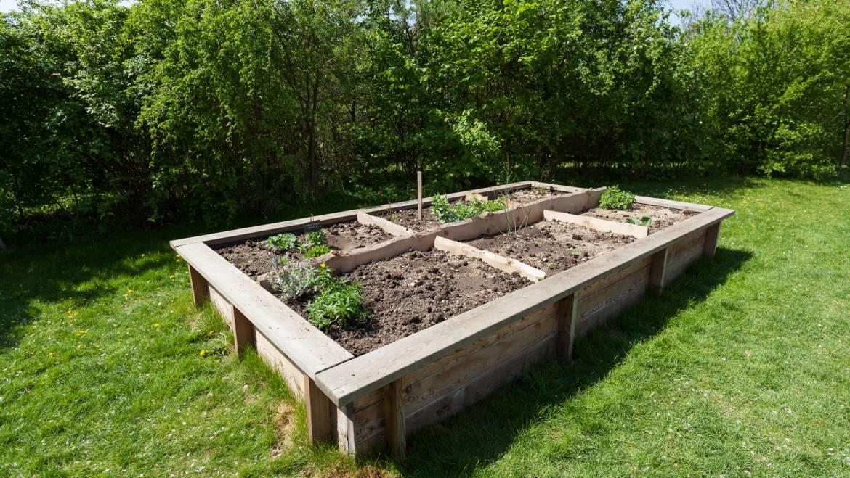 Comment construire un lit de jardin surélevé: planification, construction et plantation