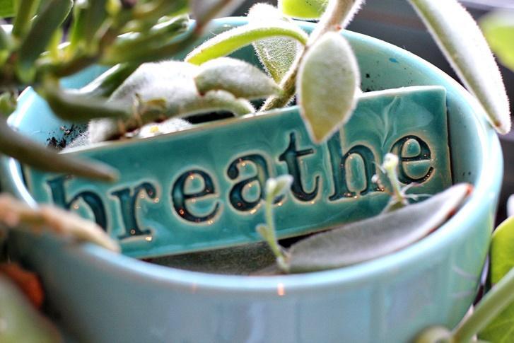 Respirez! Respirer pour se détendre.