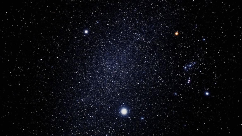 Quelle est l'étoile la plus brillante du ciel ce soir?