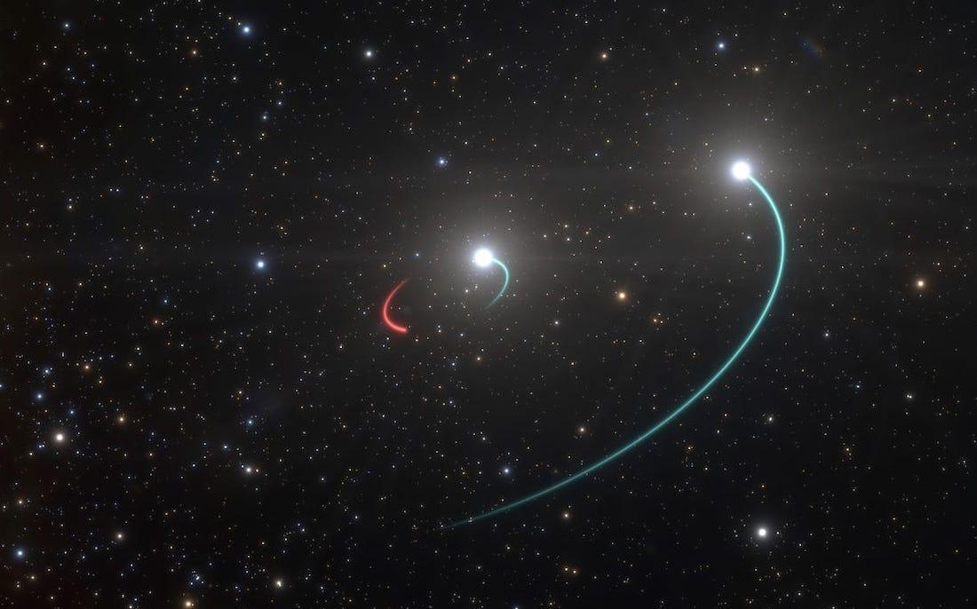Découverte du trou noir le plus proche de la Terre