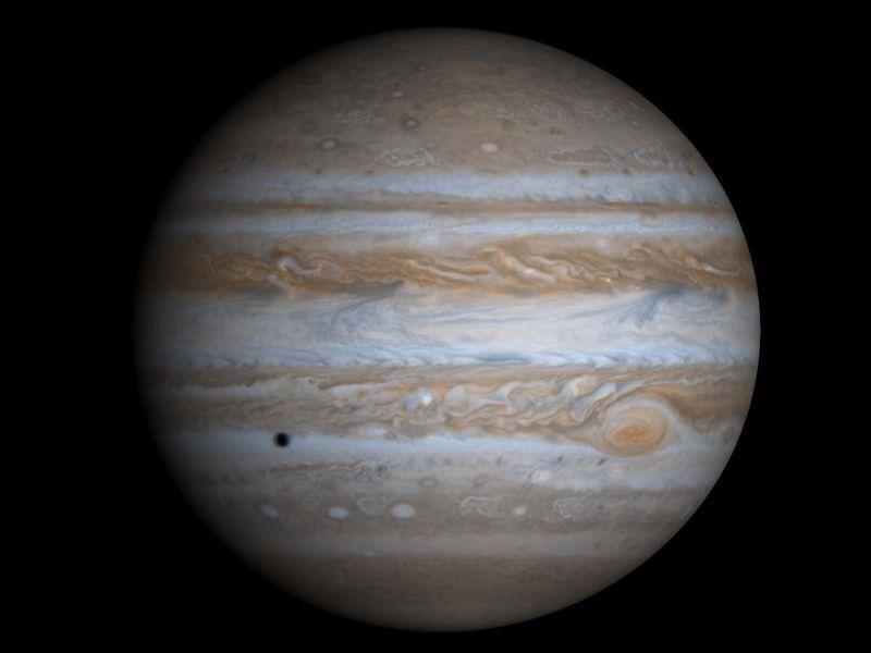 Jupiter et Saturne au plus brillant de l'année en juillet 2020
