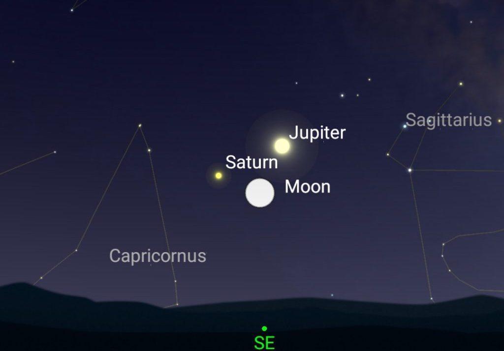 Sky Watch: événements astronomiques en août 2020