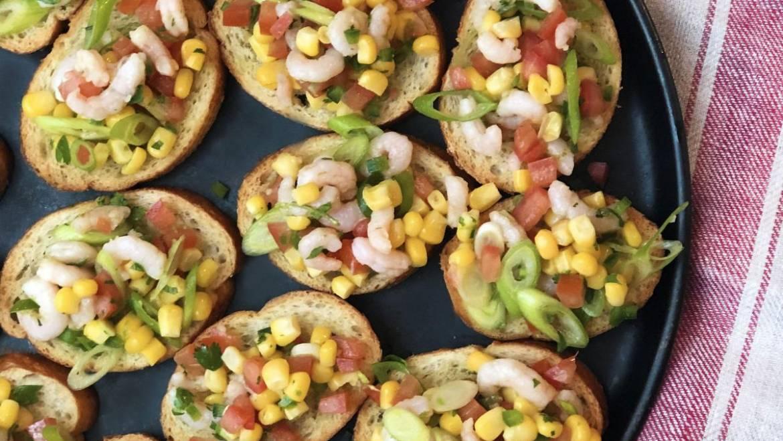Recette de bouchées de crevettes mexicaines épicées