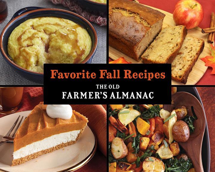 Recettes d'automne préférées: pommes, citrouilles, carottes et plus