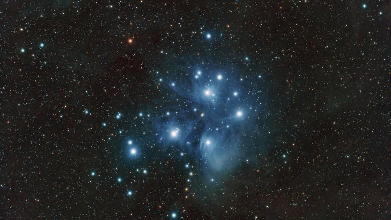 Pléiades: les sept sœurs étoiles de l'Halloween