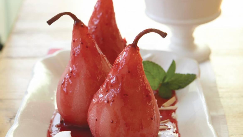 Recette de poires aux canneberges |  Les jardins de Laurent du vieux fermier