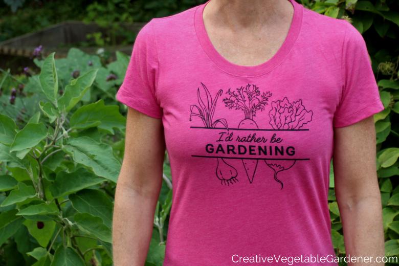 Jardinier de légumes créatif: Présentation de t-shirts uniques pour les jardiniers passionnés