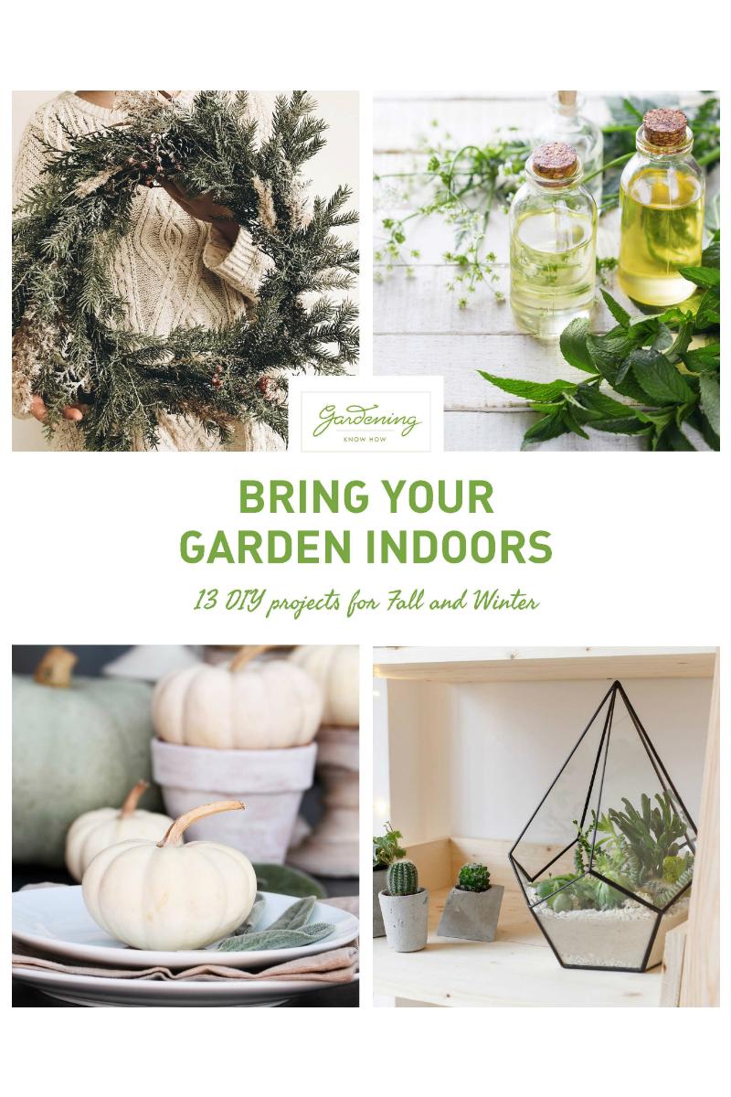 13 projets de bricolage qui amèneront votre jardin à l'intérieur pour les vacances et aideront à nourrir le monde