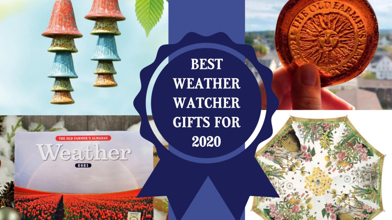 Cadeaux pour les amateurs de la météo et les geeks de la météo |  Idées cadeaux des fêtes 2020