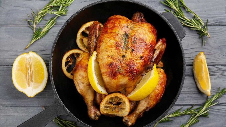 Recette de poulet au citron de la mère |  Les jardins de Laurent du vieux fermier