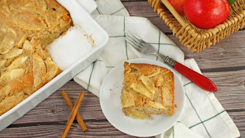 Recette de gâteau aux pommes aux graines de pavot