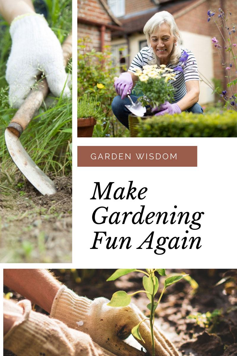 Gestion du temps à l'extérieur – Conseils de jardinage pour les personnes occupées