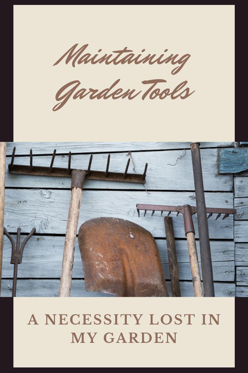 Négligence des outils de jardinage – Coupable du non-entretien des outils de jardinage