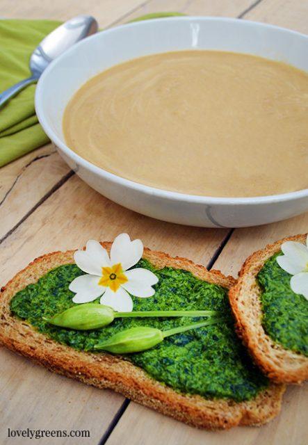 Recette de soupe au panais Accompagnements de légumes rapides et faciles