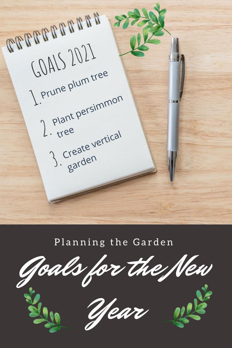 Objectifs du Nouvel An pour le jardin – Cette année, je jure que je le ferai…