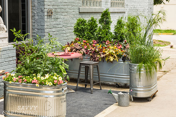 jardins de stockage urbains