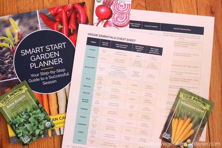 livre de planification de jardin et graines