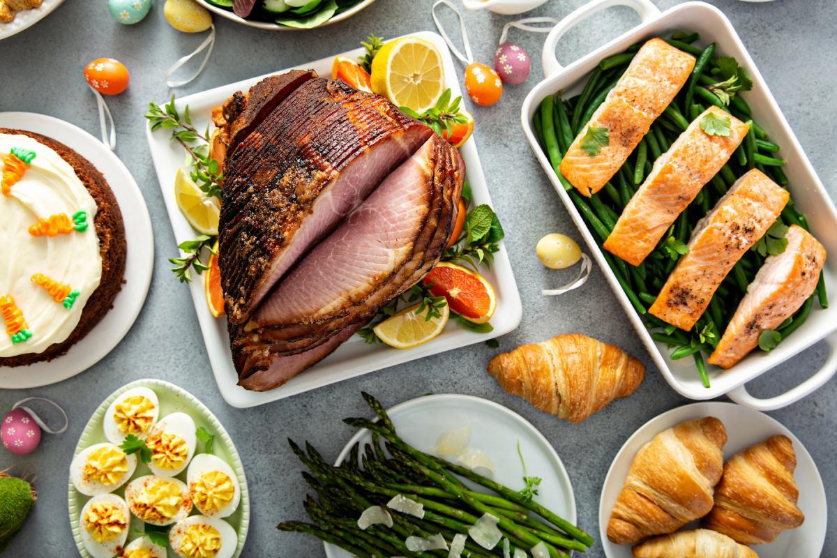 Recettes de Pâques: petit-déjeuner, dîner, desserts et plus