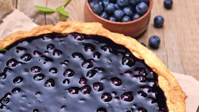 Recette de tarte aux bleuets frais |  L'almanach du vieux fermier