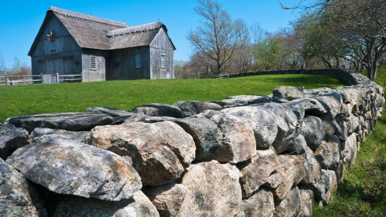Utilisation de rochers, de roches et de pierres dans le paysage