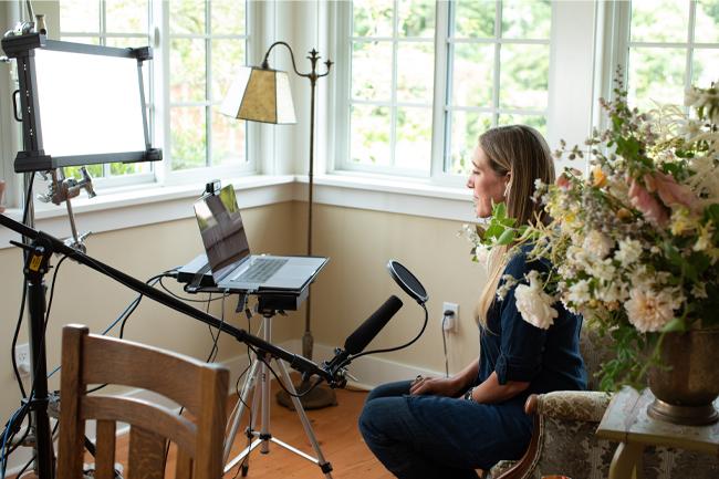Mon interview avec Marie Forleo pour MarieTV
