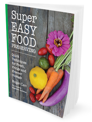 Livre de conservation des aliments facile